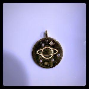 Brand new 14k gold pendant.